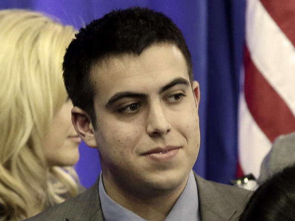 Sami Rahamim, 17, has embraced a public role speaking against gun violence in the months since his father and four others were slain at a sign business in Minneapolis.