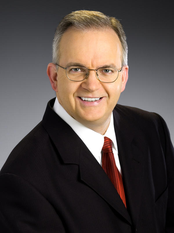 Jim Gandy, chief meteorologist for WLTX, in Columbia, S.C.