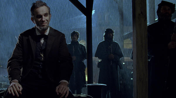 The actor Daniel Day-Lewis in the film <em>Lincoln.</em>