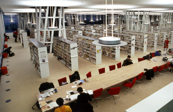Ito's pioneering technology made the Sendai Mediatheque flexible and resilient as it withstood Japan's 2011 earthquake.