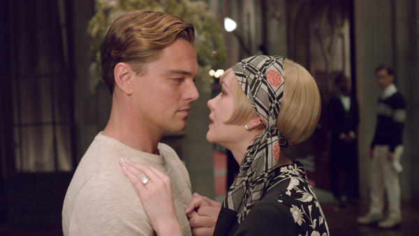 Leonardo DiCaprio and Carey Mulligan star in Baz Lurhmann's adaptation of <em>The Great Gatsby</em> — but the new film's music is so bold it may as well be a character, too.