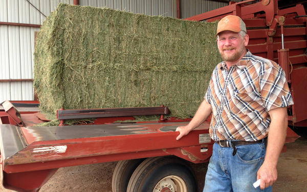 Third-generation Oklahoma farmer Scott Neufeld says crop insurance is important to his family's business.