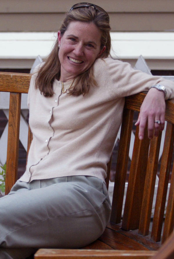 Caroline Elkins, shortly after winning the 2006 Pulitzer Prize for general nonfiction for her book on British abuse of the Kenyan Mau Mau.