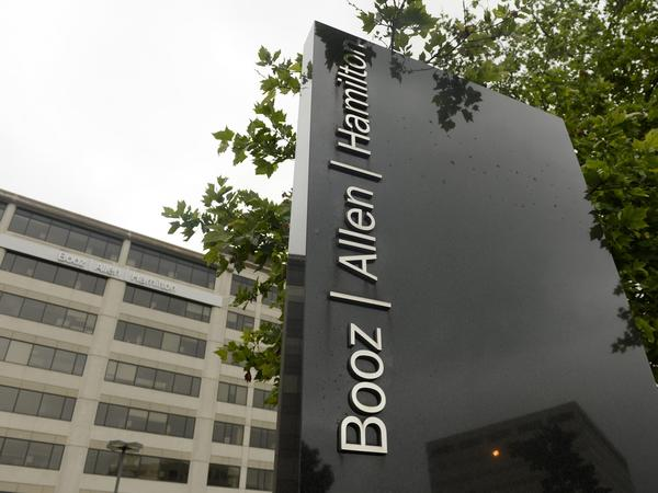 Federal contractor Booz Allen Hamilton, headquartered in McLean, Va., employed Edward Snowden, the computer technician at the center of the controversy over leaks involving the National Security Agency.