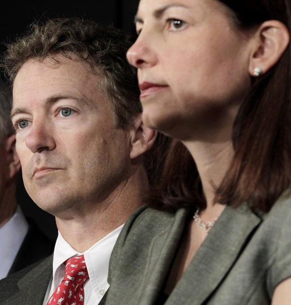 Sen. Rand Paul, R-Ky., and Sen. Kelly Ayotte, R-N.H.