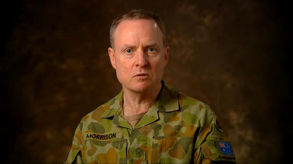 """Lt. Gen. David Morrison, Australia's army chief, has simple advice for those who don't want women in the service: """"Get out."""""""