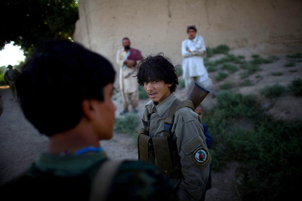 The Afghan Local Police is a semi-volunteer force. They are minimally paid and minimally trained, and when the Americans leave, they will be left to defend their country on their own.