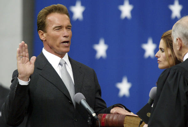 Republican Arnold Schwarzenegger won back the governor's office in a historic recall election in 2003. But Schwarzenegger didn't seem interested in building up the rest of the party.