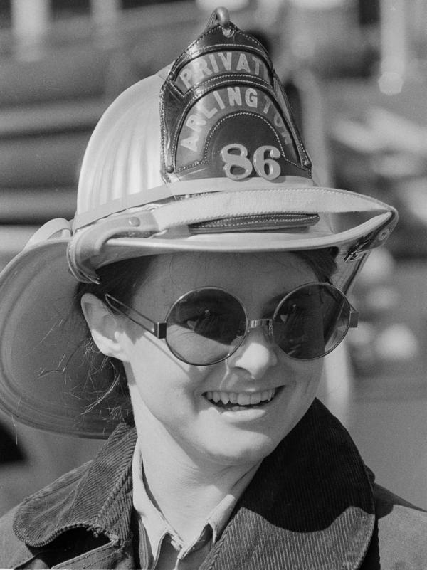 Judy Brewer was the country's first full-time female firefighter.