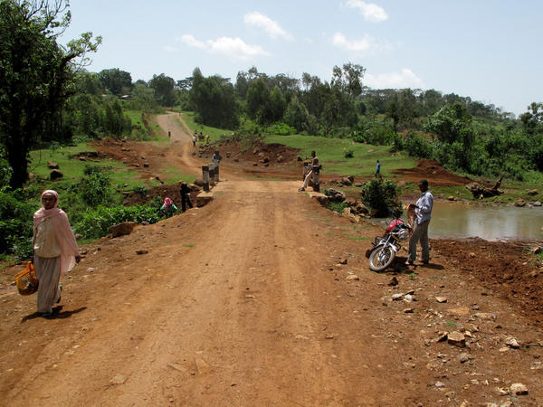 """The village of Boto in the Ethiopian highlands was selling some of the cheapest coffee in Ethiopia, the notorious """"Jimma 5."""" Now it's selling a bean coveted by specialty U.S. roasters, and has built a road with some of the proceeds."""