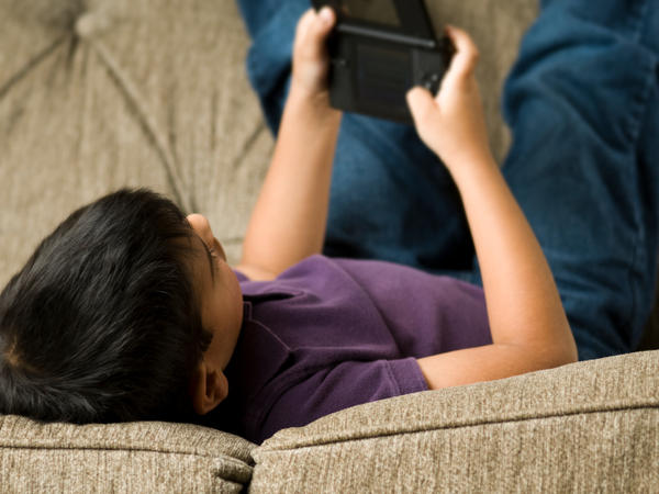 """The American Academy of Pediatrics recommends that children have no more than two hours a day of """"screen time."""""""