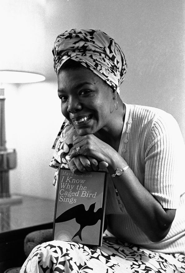 Angelou became Hollywood's first black female movie director on Nov. 3, 1971. She also wrote the script and music for <em>Caged Bird</em>, which was based on her best-selling 1969 autobiography. She had been a professional singer, dancer, writer, composer, poet, lecturer, editor and San Francisco streetcar conductor.