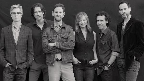 Mark Seliger (third from left), former chief photographer for <em>Rolling Stone</em>, also leads the country-rock ensemble Rusty Truck.