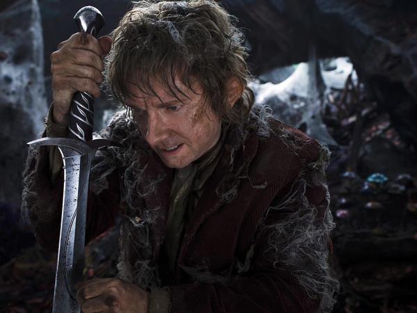 Martin Freeman as the Hobbit Bilbo Baggins in <em>The Hobbit: The Desolation Of Smaug</em>.