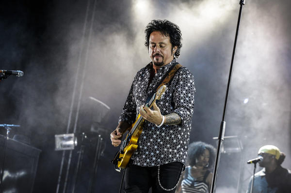 Steve Lukather, vocalist and guitarist, is Toto's frontman.