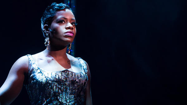 Fantasia Barrino, the <em>American Idol</em> winner who went on to play the lead role in Broadway's <em>The Color Purple</em>, was among the rotating roster of guest stars in <em>After Midnight,</em> a Broadway revue celebrating Harlem's legendary Cotton Club and the stars who performed there.