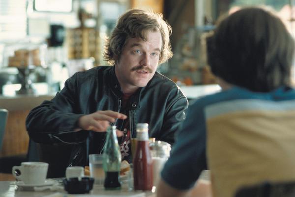 Hoffman plays rock journalist Lester Bangs in the 2000 film <em>Almost Famous</em>.