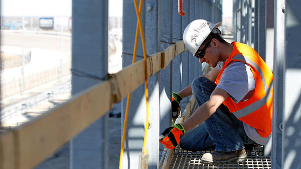 Construction companies added 15,000 jobs even though the weather was horrible in much of the country in February.
