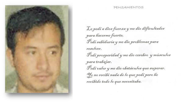 Nazario Moreno Gonzalez, in an image from one of the quasi-religious books his cartel distributed.