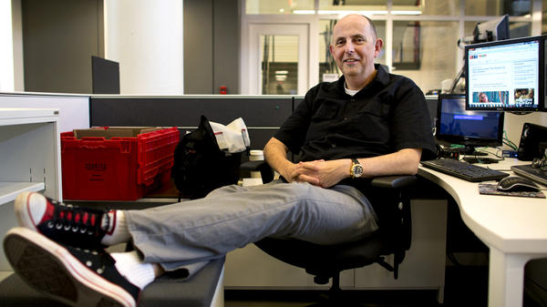 Mark Memmott: All packed up and ready to move on to a new role at NPR.