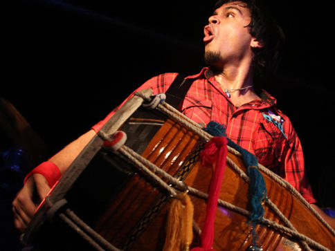 Composer and drummer Sunny Jain, the founder of Red Baraat, is writing <em>100 BPM </em>as a commission from NPR Music.