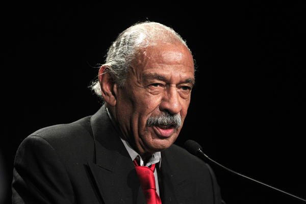 Rep. John Conyers, D-Mich., in November 2012. He's held his Detroit-area congressional seat for close to 50 years.