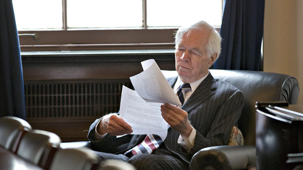 Mississippi Sen. Thad Cochran, who is seeking his seventh term, is in a heated primary race with a Tea Party-backed challenger. Supporters of his opponent are accused of conspiring to photograph Cochran's bedridden wife.