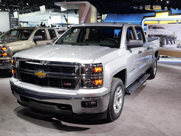 The 2014 Chevrolet Silverado is among the vehicles being recalled.