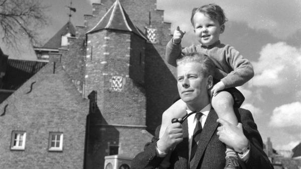 While life has changed significantly for American men in the past half-century, notions of masculinity remain tied to those that may have been passed down from this father to the son on his shoulders.