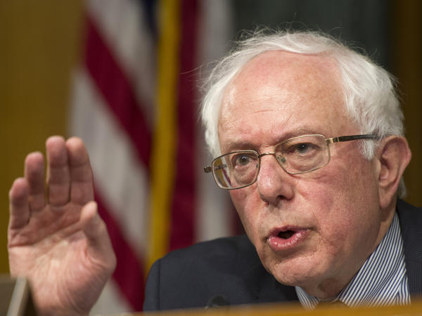 Sen. Bernie Sanders of Vermont speaks during a committee hearing on veterans' health care. Sanders, an Independent, is a possible 2016 presidential candidate.