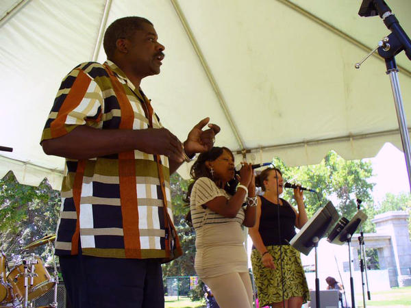 Fresh Oil From Heaven performs at the 2013 Colorado Black Arts Festival, which was founded 28 years ago. (CBAF/Facebook)