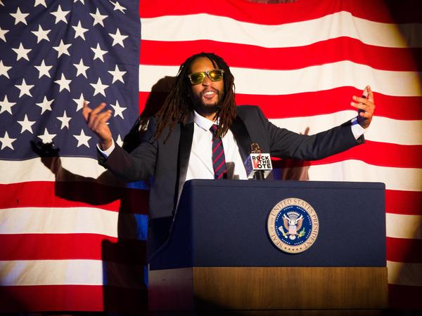 Rapper Lil Jon appears in a new ad for Rock the Vote's 2014 campaign. The organization was founded to get Generation X engaged in politics, and is adapting its tactics to reach millennials.
