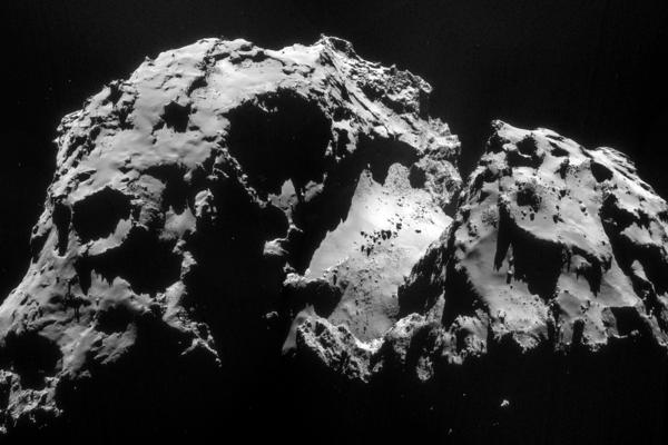 The Comet 67P/Churyumov-Gerasimenko smells of rotten eggs, drunk people and horses.