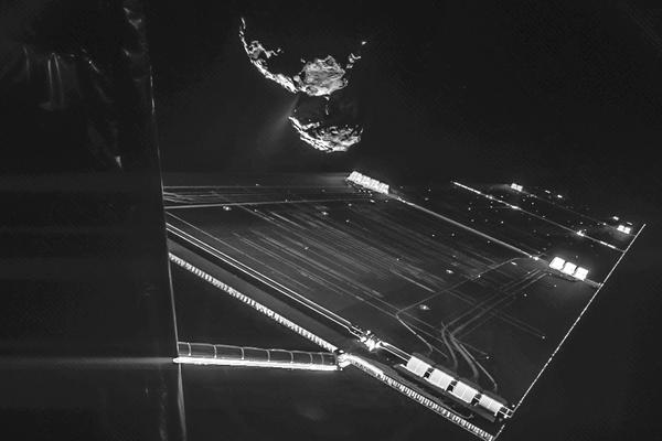 The Rosetta mission has gotten to within just a few miles of the comet. Close enough to whiff its coma, or atmosphere, and conclude that it really stinks.
