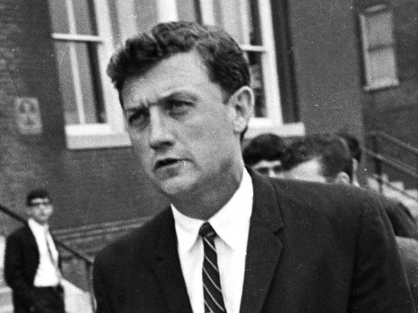 John Doar in Oxford, Miss., in 1966.