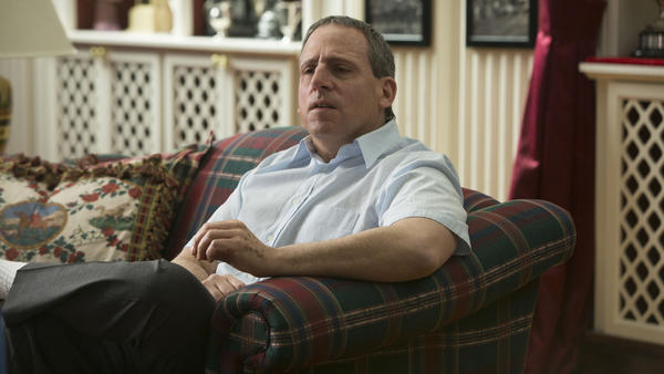 Steve Carell ditches any pretense of comedy in <em>Foxcatcher.</em>