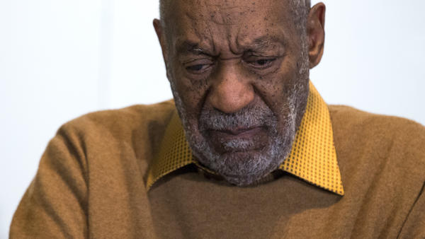 Bill Cosby speaks at a press conference about African- American art on Nov. 6.