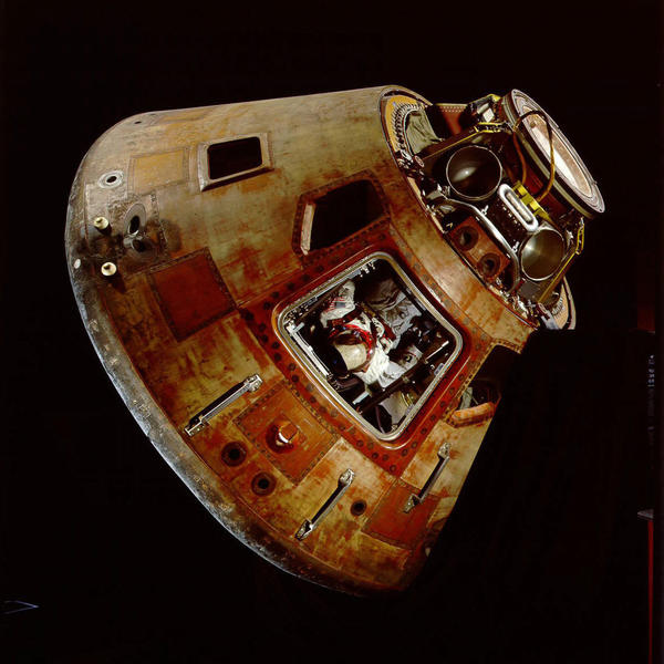 The new Orion capsule looks much like the Apollo 11 capsule that took three astronauts to the moon in 1969.