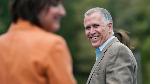 Republican Senator-elect Thom Tillis of North Carolina says he expects his party to challenge the president immediately on immigration, and that he hopes President Obama's Defense and Justice nominees will be acceptable to both parties.