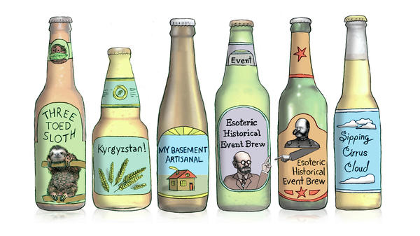 With so many craft breweries now in operation, just about every beer name you can imagine is taken. That's making it harder for newcomers to name that brew without risking a legal fight.