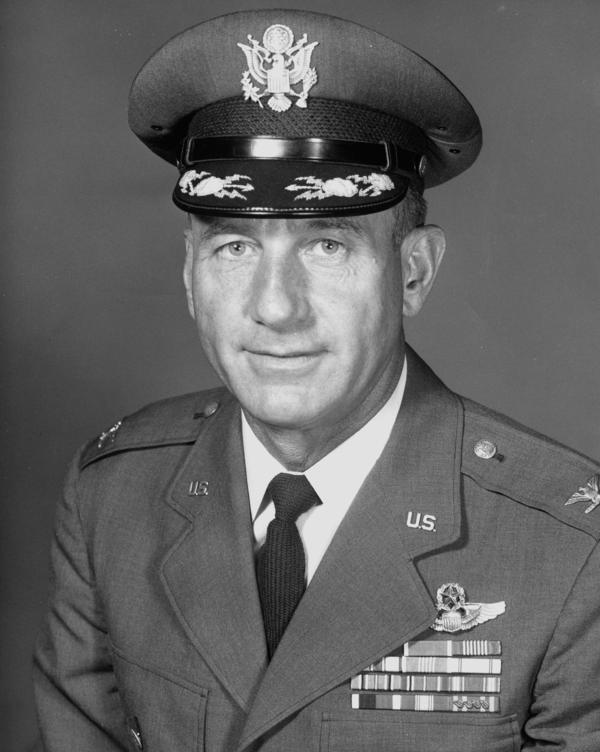 "Col. Harry Shoup came to be known as the ""Santa Colonel."" He died in 2009."