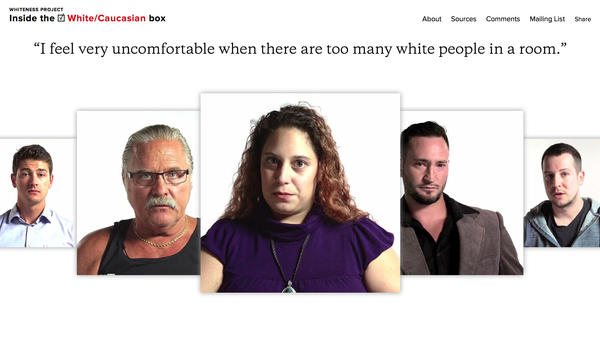Whitney Dow found participants in the<em> W</em><em>hiteness Project </em>by putting out a call for interested white folks in Buffalo to talk about whiteness on tape.