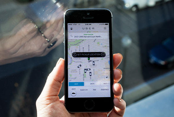 """The app-based car service Uber has had a big year for business --€"""" and controversy."""