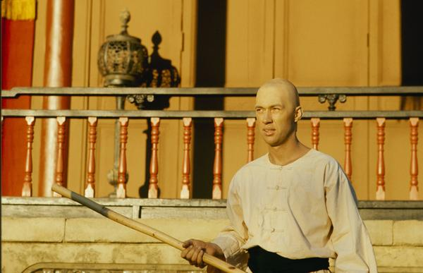 David Carradine played a Shaolin monk and martial arts expert in <em>Kung Fu</em>.