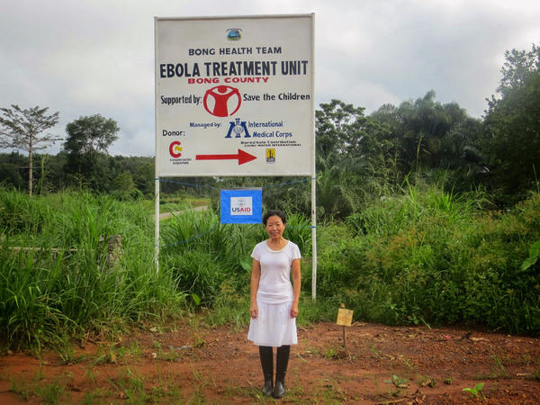 Last year Dr. Kwan Kew Lai volunteered at an Ebola treatment center run by International Medical Corps in Bong County, Liberia.