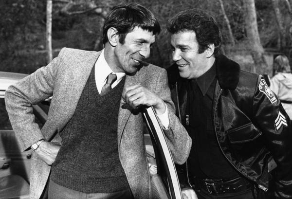 William Shatner and Leonard Nimoy went on to act together in another TV series when Nimoy guest -starred in an episode of <i>T.J. Hooker</i> on Jan. 29, 1983. Nimoy portrayed Shatner's former partner, who was pursuing a man who had attacked his daughter.