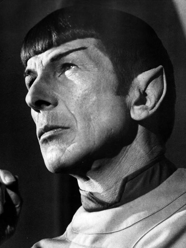 Leonard Nimoy as Mr. Spock from the film <em>Star Trek: The Motion Picture</em>, 1979.
