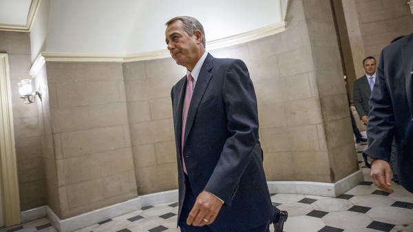 House Speaker John Boehner's job is secure, despite passing a bill to avert a shutdown of the Department of Homeland Security — a bill that most of his Republican colleagues opposed.
