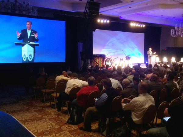 Andrew Walker pushed an agenda on youthful matrimony during a recent marriage conference put on by the Southern Baptist's Ethics and Religious Liberty Commission.