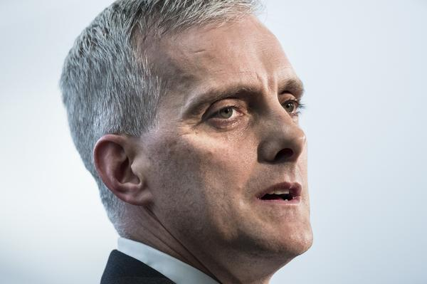 """An occupation that has lasted for almost 50 years must end,"" White House Chief of Staff Denis McDonough told the annual J Street conference"